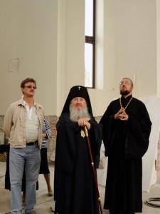 М.В.Голобородский, митрополит Феофан, протоиерей Димитрий Шорин