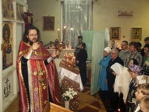 Пасха в молельном зале на пр.Ленина,42.