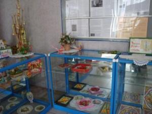 выставка сувениров и открыток РХ