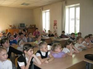 беседа со школьниками 2 кл.